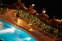Spanien, Mallorca, Pool von Hotel Florida in  Magaluf