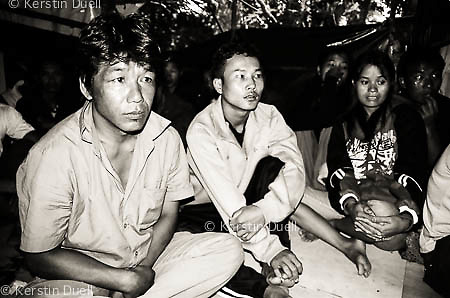 Chin refugees from Burma in two unofficial camps in Malaysia's Cameron Highlands and Putrajaya, 2007