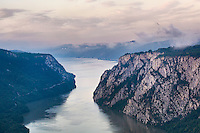 The Iron Gates of the Danube, North-eastern Serbia