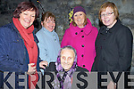 MASS; Ladies of Ardfert who were at the Lá Fhéile Bréanainn at Ardfert Cathedral, on Thursday evening, Lily Dillon, Mary Frances maher, Kay Hayes, Betty Stack and Eileen Nolan.