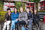 Seen at The Red Fox Inn, Glenbeigh on Saturday enjoying the Kerry Vintage Veteran Car Club's 40th anniversary Ring of Kerry Run<br /> L-R Kathleen Hehir, Myra O'Sullivan, Louise Foley, Abagail Foley & Sharon Foley