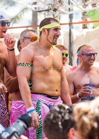 LAS VEGAS, NV - May 9: ***HOUSE COVERAGE*** Mojo Rawley at Rob Gronkowski's Birthday at REHAB Pool Party at Hard Rock Hotel & Casino in Las Vegas, NV on May 9, 2015. Credit: Erik Kabik Photography/MediaPunch