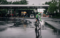 Rigoberto Uran (COL/Cannondale-Drapac after the race<br /> <br /> 104th Tour de France 2017<br /> Stage 1 (ITT) - D&uuml;sseldorf &rsaquo; D&uuml;sseldorf (14km)