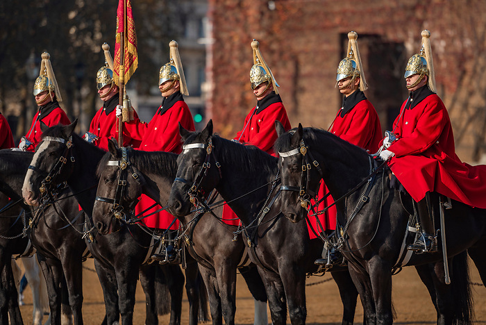Changing of the guard, Horse Guards, Westminster, London