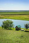 Farm pond, Union County, PA.