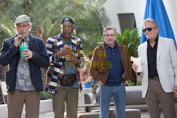 Kevin Kline, Morgan Freeman, Robert De Niro, Michael Douglas<br /> in Last Vegas (2013) <br /> *Filmstill - Editorial Use Only*<br /> CAP/NFS<br /> Supplied by Capital Pictures