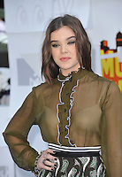 Hailee Steinfeld at the 2015 MTV Movie Awards at the Nokia Theatre LA Live.<br /> April 12, 2015  Los Angeles, CA<br /> Picture: Paul Smith / Featureflash