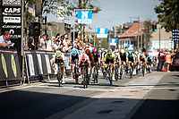 22 year old Attilio Viviani (ITA/Cofidis) (Elia Viviani's younger brother) wins the bunch sprint against Timothy Dupont (BEL/Wanty Gobert)<br /> <br /> <br /> 94th Schaal Sels 2019<br /> One Day Race: Merksem  >  Merksem  (UCI 1.1)<br /> ©kramon