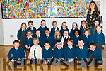 Nagle Rice Primary, MILLTOWN Ms. Patricia Bennett's junior infants Starting on Thursday Pictured Front row l-r:<br /> Mason Corkery, Finn Slattery, Kieran Sheehan, Jacob Foley, Fionn&aacute;n Burke, Ois&iacute;n Bevan, Darragh Bell<br /> Middle row l-r: Kara Long, Lauren McHugh, Sarah Ryan, Bl&aacute;thnaid Fahy, Jade Ronan, Shantell Banda, Kamila Banasiak, Hollie Murphy<br /> Back row l-r: Grace Clifford, Si &uacute;n Barron, Luke Twiss, Vita Nagel, Hannah O&rsquo; Connor, Faye Coffey, Elsie Clifford, Mary O&rsquo; Sullivan.<br /> Class Teacher: Ms. Patricia Bennett