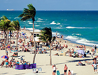USA, Florida, Hollywood: Beach | USA, Florida, Hollywood: Beach