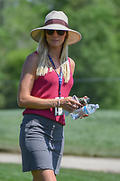 Rafael Cabrera Bello's (ESP) wife, Sophia Lundstedt watches Rafa putt on 2 during round 1 of the Houston Open, Golf Club of Houston, Houston, Texas. 3/29/2018.<br /> Picture: Golffile | Ken Murray<br /> <br /> <br /> All photo usage must carry mandatory copyright credit (© Golffile | Ken Murray)