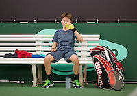 March 8, 2015, Netherlands, Rotterdam, TC Victoria, NOJK, Daan van Dijk (NED)<br /> Photo: Tennisimages/Henk Koster