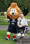 Roary the Lion with Peter Houston