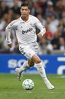 25.04.2012 SPAIN -  UEFA Champions League Semi-Final 2nd leg  match played between Real Madrid CF vs  FC Bayern Munchen 2 (1) - 1 (3) at Santiago Bernabeu stadium. The picture show Cristiano Ronaldo (Portuguese forward of Real Madrid)