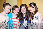 FUN: having fun at the Battle of the Bands final in the Brand Hotel, Tralee on Sunday L-r: Katie Ferriter, Ciara Kennedy, Keelyn O'Brien and Lily Kennedy (Annascaul)..