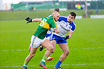 Kerry's Barry John Keane gets past Monaghan's Drew Wylie  in the Allianz Football League Kerry V Monaghan at Austin Stack Park on Sunday