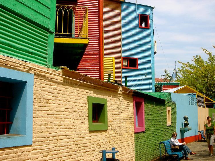Caminito, Port La Boca, Buenos Aires, Argentina   Feb 08