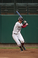 29 October 2007: Autumn Albers during practice at the Boyd and Jill Smith Stadium in Stanford, CA.