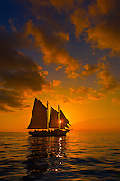 USA-Florida-Keys-Key West-Sailing Ships
