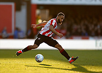 8th February 2020; Griffin Park, London, England; English Championship Football, Brentford FC versus Middlesbrough; Bryan Mbeumo of Brentford