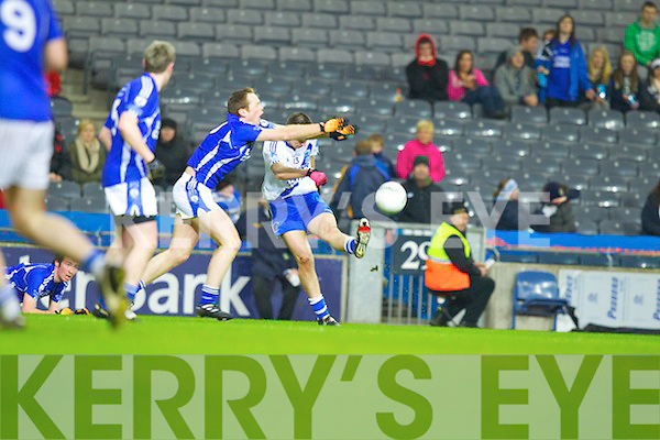 Daniel Daly Saint Mary's, Cahersiveen, v Saint Mary's, Swanlinbar in the All Ireland Junior Club Championship at Croke park on Saturday evening.