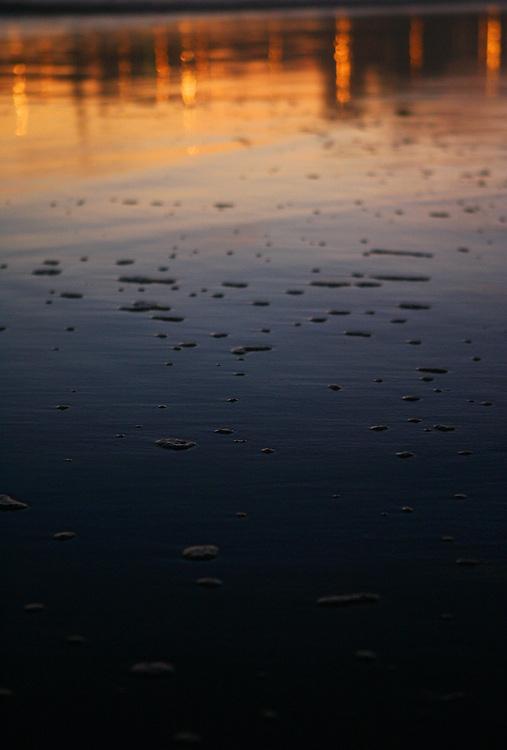 December 5, 2007; Santa Cruz, CA, USA; Santa Cruz beach at sunset in Santa Cruz, CA. Photo by: Phillip Carter