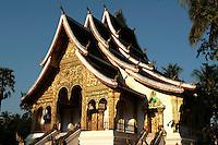Wat Ho Prabang, within the grounds of the former royal palace of Luang Prabang.