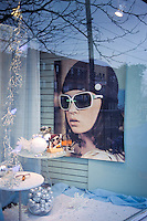 Store window on College Street, Toronto. 2008. Nikon F90