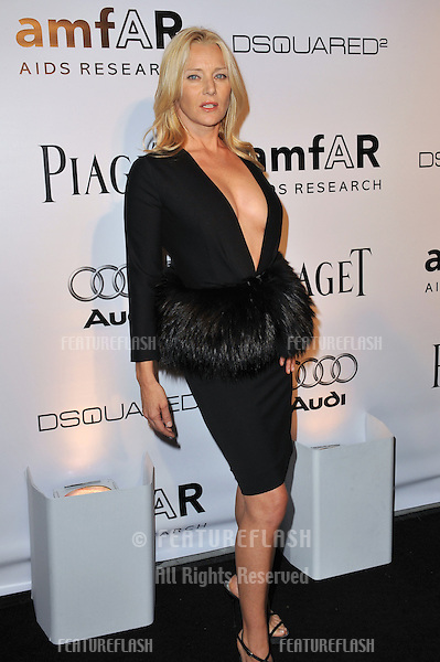 Angela Featherstone at the launch of amfAR's L.A. Event celebrating Men's Style at the Chateau Marmont Hotel, West Hollywood..October 27, 2010  Los Angeles, CA.Picture: Paul Smith / Featureflash