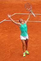 Francesca Schiavone (ITA) <br /> Parigi 28-05-2015<br /> Tennis Roland Garros Grande Slam <br /> Foto Panoramic / Insidefoto<br /> ITALY ONLY