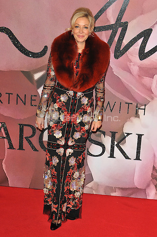 Nadja Swarovski at the Fashion Awards 2016, Royal Albert Hall, Kensington Gore, London, England, UK, on Monday 05 December 2016. <br /> CAP/CAN<br /> ©CAN/Capital Pictures /MediaPunch ***NORTH AND SOUTH AMERICAS ONLY***
