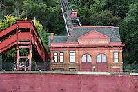 Duquesne Incline, Pittsburgh, Pennsylvania, USA.