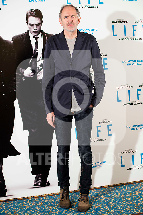Dutch director and photographer Anton Corbijn present his new film &quot;LIFE&quot; in Madrid, Novermber 11, 2015.<br /> (ALTERPHOTOS/BorjaB.Hojas)
