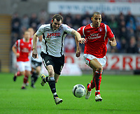 2009 12 12 Coca Cola Championship, Swansea City v Nottingham Forest, Liberty Stadium, Swansea
