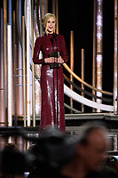 Nocole Kidman presents at the 76th Annual Golden Globe Awards at the Beverly Hilton in Beverly Hills, CA on Sunday, January 6, 2019.<br /> *Editorial Use Only*<br /> CAP/PLF/HFPA<br /> Image supplied by Capital Pictures