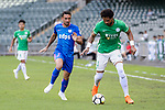 Eduardo Praes of Wofoo Tai Po (R) in action against Kitchee Forward Fernando Azevedo Pedreira (L) during the Hong Kong FA Cup final between Kitchee and Wofoo Tai Po at the Hong Kong Stadium on May 26, 2018 in Hong Kong, Hong Kong. Photo by Marcio Rodrigo Machado / Power Sport Images