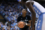 CHAPEL HILL, NC - DECEMBER 03: Tulane's Melvin Frazier. The University of North Carolina Tar Heels hosted the Tulane University Green Wave on December 3, 2017 at Dean E. Smith Center in Chapel Hill, NC in a Division I men's college basketball game. UNC won the game 97-73.