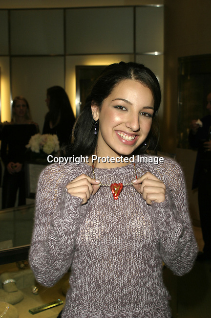 Vanessa Lengies <br />ARIEL'S HEART OF HOPE <br />Neiman Marcus<br />Beverly Hills, CA, USA<br />Wednesday, December 10, 2003   <br />Photo By Celebrityvibe.com/Photovibe.com