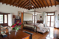 Master bedroom of the main house. Home in Jiutepec, Morelos, Mexico. Wednesday, August 31, 2011