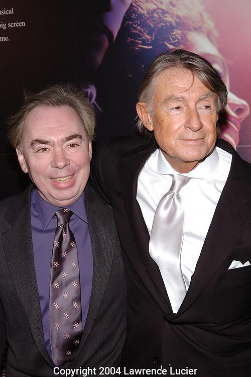 Andrew Lloyd Webber and Joel Schumacher