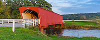Madison County, IA: Hogback covered bridge (1884) on North River