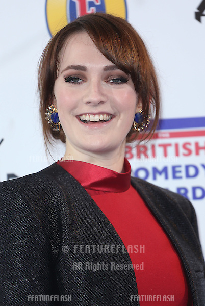 Charlotte Ritchie arriving for The British Comedy Awards 2013 held at Fountain Studios, London. 12/13/2012 Picture by: Henry Harris / Featureflash