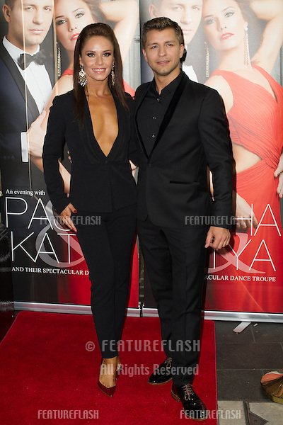 Katya and Pasha at the Katya and Pasha West End show - Gala night held at the Lyric Theatre, London. 07/04/2014 Picture by: Dave Norton / Featureflash