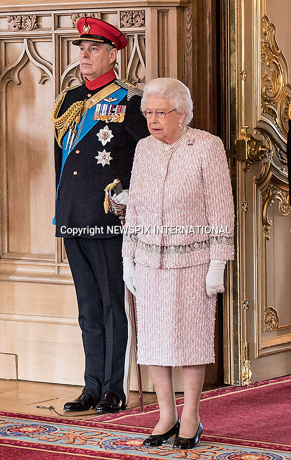 05.04.2017; London, England: QUEEN ELIZABETH<br />