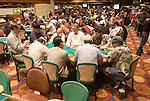 The poker tournament area.