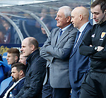 24.3.2018: Rangers legends match:<br /> Walter Smith and Kenny McDowall