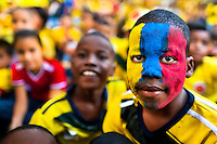 Football fans of Colombia, FIFA 2014 (Cali, Colombia)