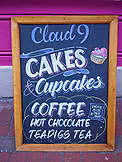 ENGLAND, Brighton, Cloud 9 Cake Sign