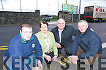 Car park appeal: Listowel town engineer Michael McEnery, Cathaoirleach Maria Gorman and Cllr Denis Stack and Tadhg Moriarty of the Listowel Emmets GAA Frank Sheehy Park field and development committee who are appealing to the public to use the car park facility in the town to prevent heavy traffic congestion in the area.   Copyright Kerry's Eye 2008