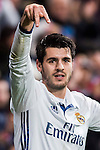 Alvaro Morata of Real Madrid reacts during their La Liga match between Real Madrid and Real Sociedad at the Santiago Bernabeu Stadium on 29 January 2017 in Madrid, Spain. Photo by Diego Gonzalez Souto / Power Sport Images